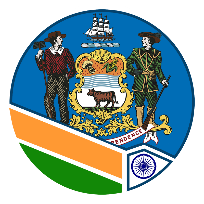 Image of the Delaware Commission on Indian Heritage and Culture's logo